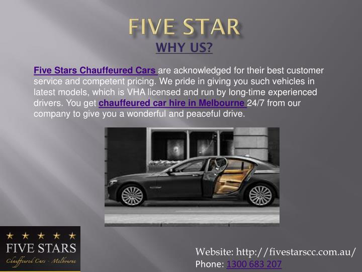 Five star why us