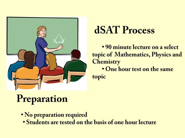 dSAT Process