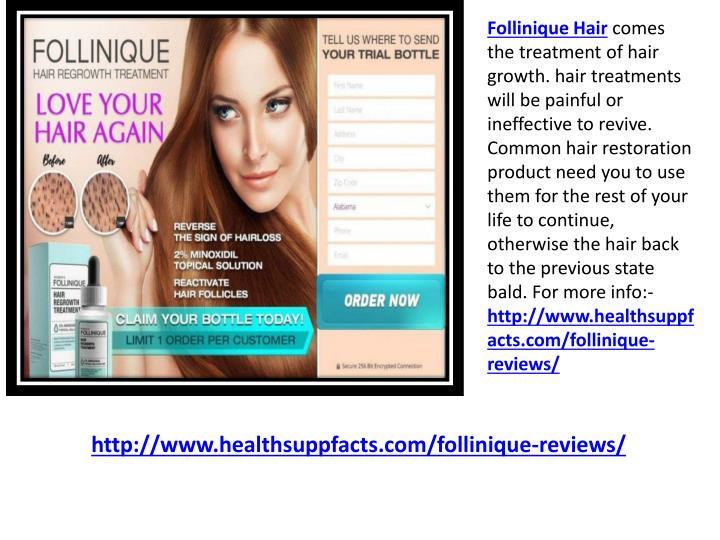 Follinique Hair