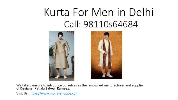 Kurta for men in delhi call 98110s64684