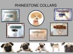 rhinestone collars