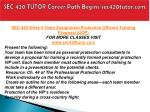 sec 420 tutor career path begins sec420tutor com24