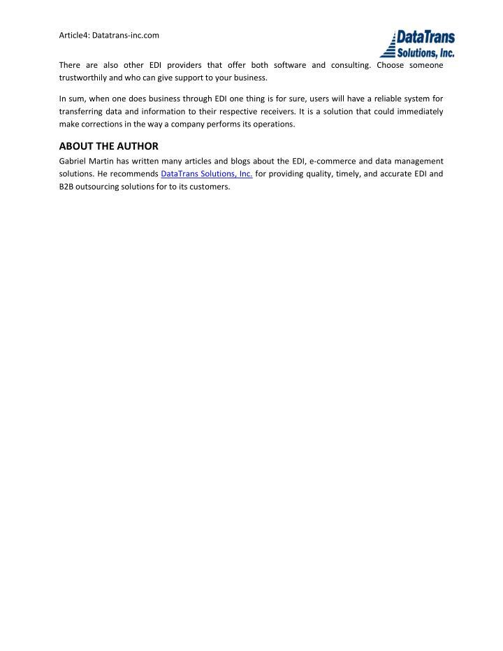 Article4: Datatrans-inc.com