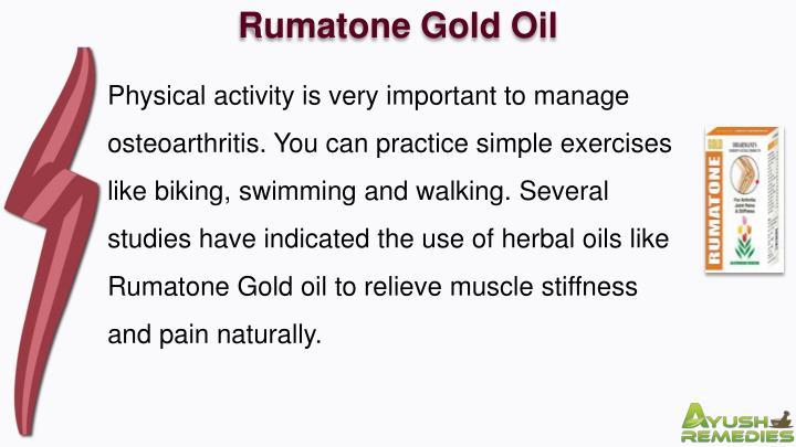 Rumatone Gold Oil
