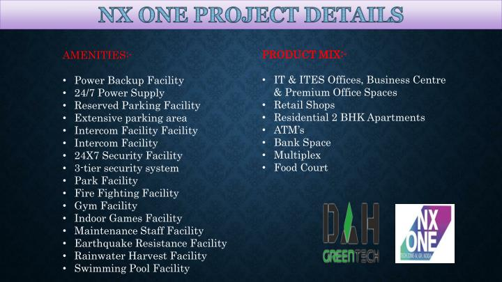 PRODUCT MIX: