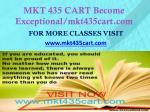 mkt 435 cart become exceptional mkt435cart com1