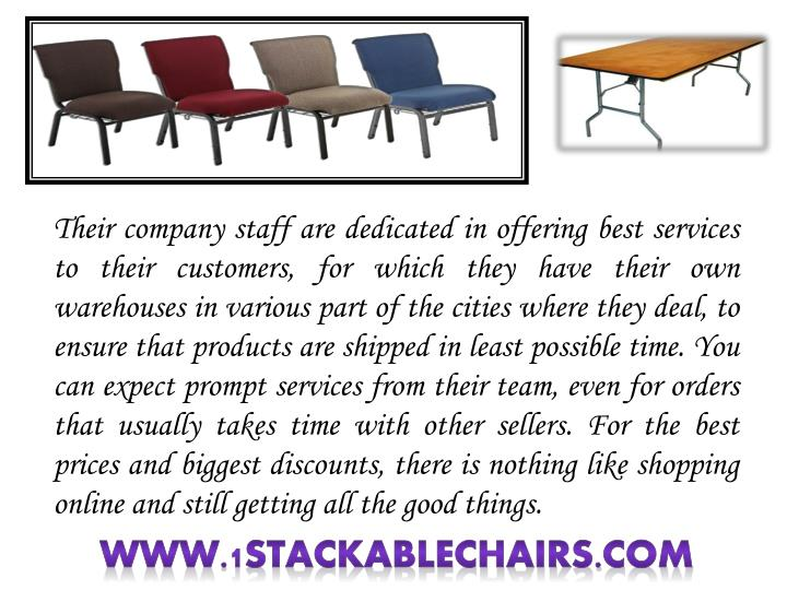 Their company staff are dedicated in offering best services to their customers, for which they have their own warehouses in various part of the cities where they deal, to ensure that products are shipped in least possible time. You can expect prompt services from their team, even for orders that usually takes time with other sellers. For the best prices and biggest discounts, there is nothing like shopping online and still getting all the good things.