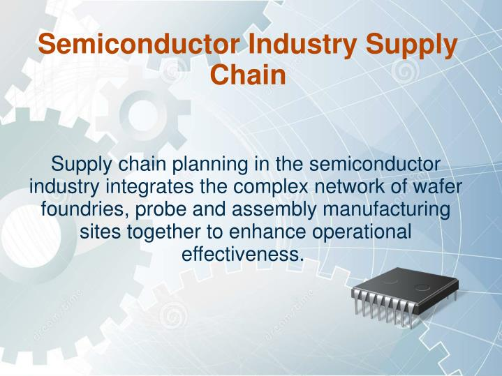 semiconductor industry supply chain n.