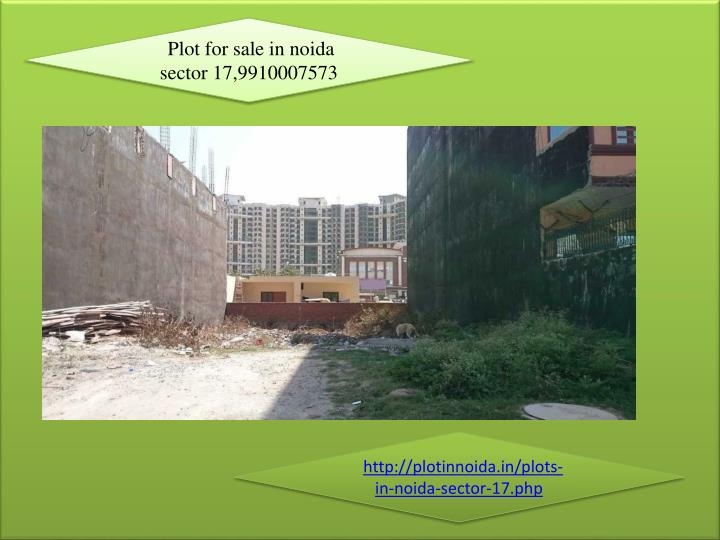 Plot for sale in