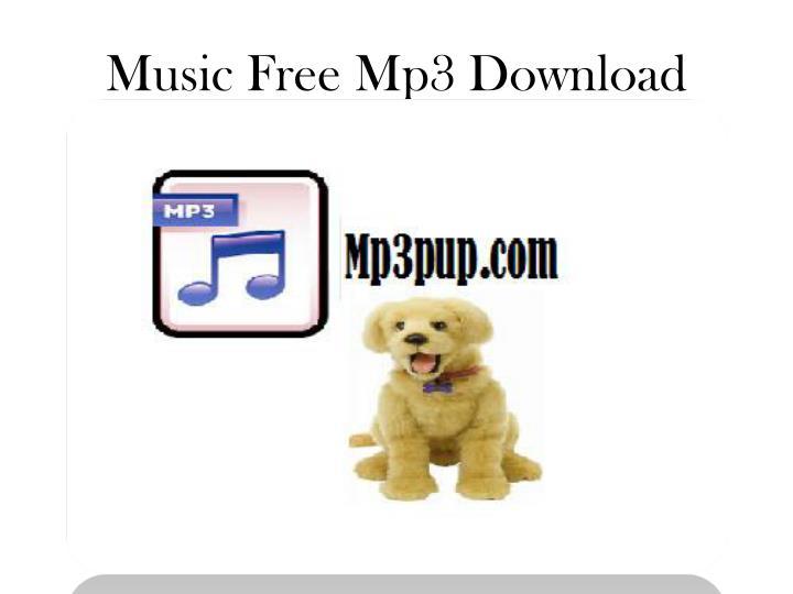 Music free mp3 download