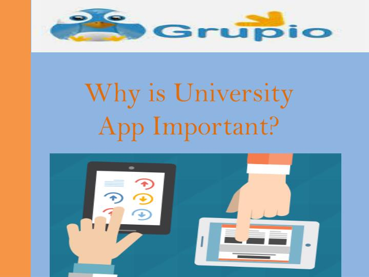 Why is University App Important?