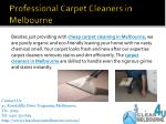 professional carpet c leaners in melbourne