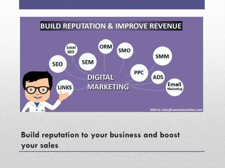Build reputation to your business and boost your sales