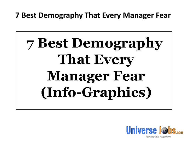 7 best demography that every manager fear n.
