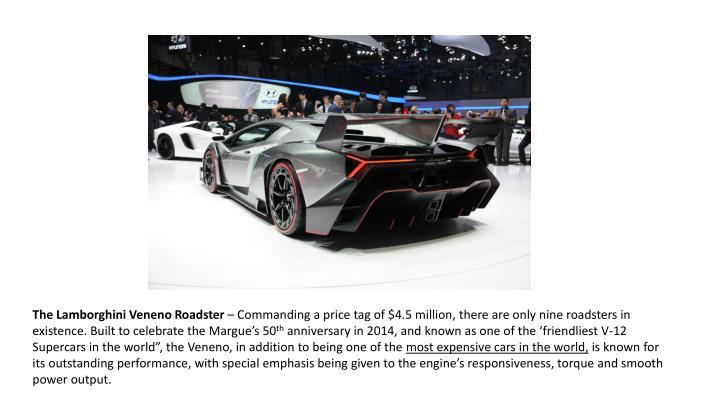 The Lamborghini