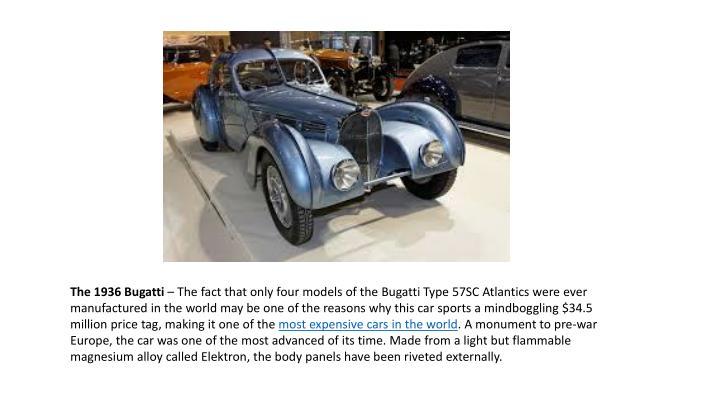 The 1936 Bugatti