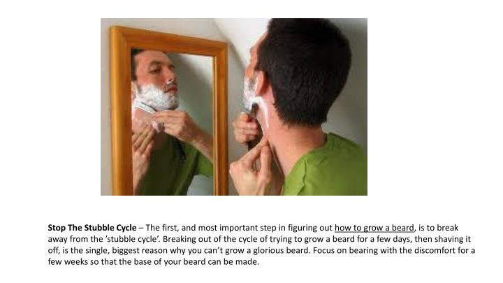 Stop The Stubble Cycle