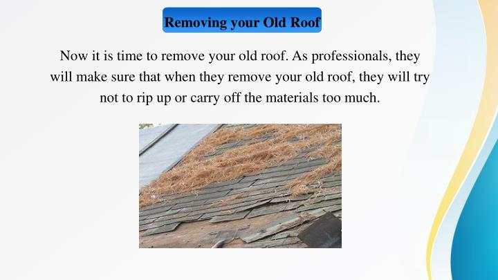 Removing your Old Roof