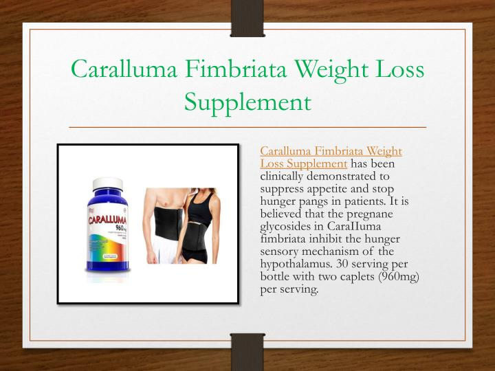 Caralluma Fimbriata Weight Loss Supplement