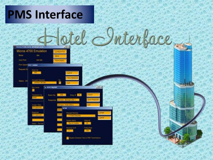 PMS Interface
