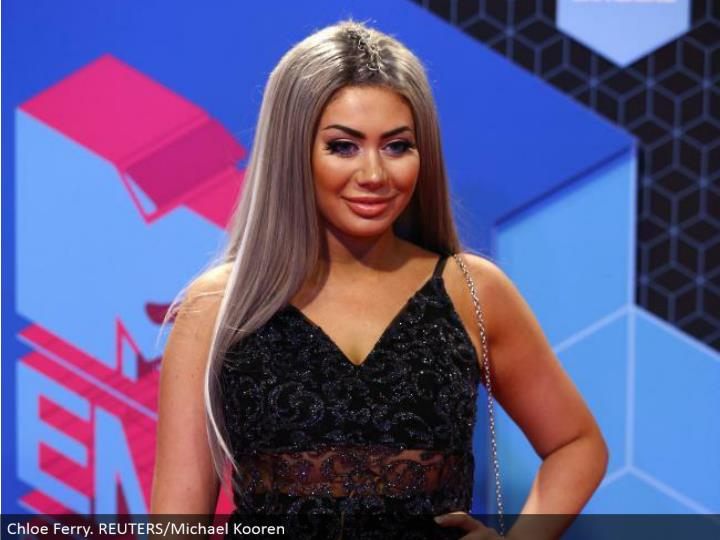 Chloe Ferry. REUTERS/Michael Kooren