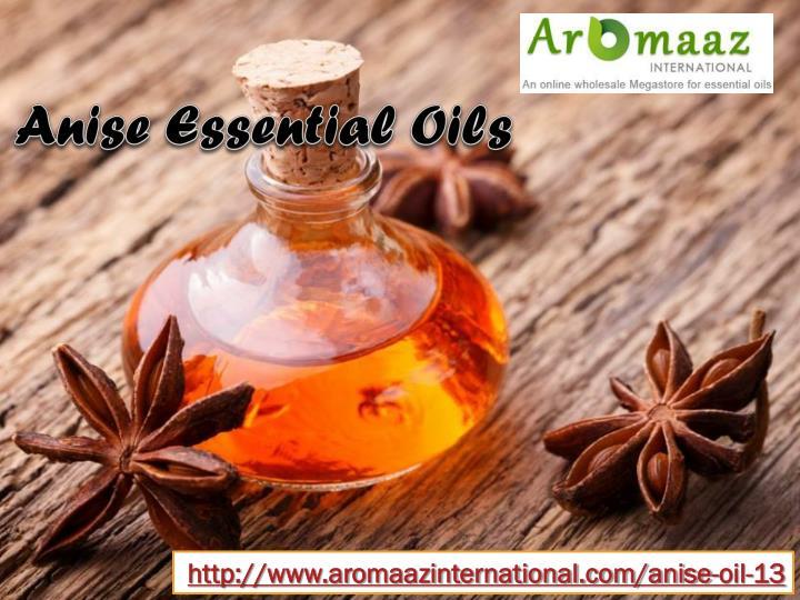 Anise Essential Oils
