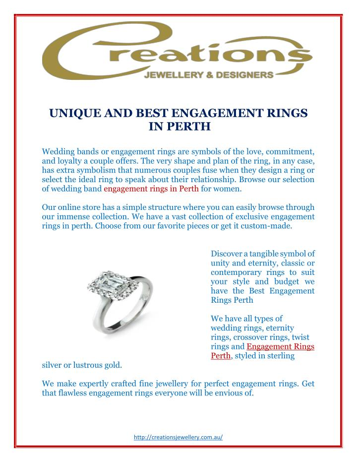 UNIQUE AND BEST ENGAGEMENT RINGS