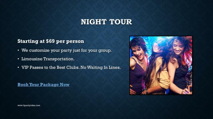 NIGHT TOUR