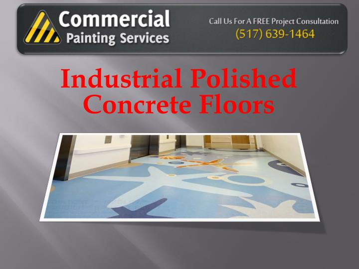 industrial polished concrete floors