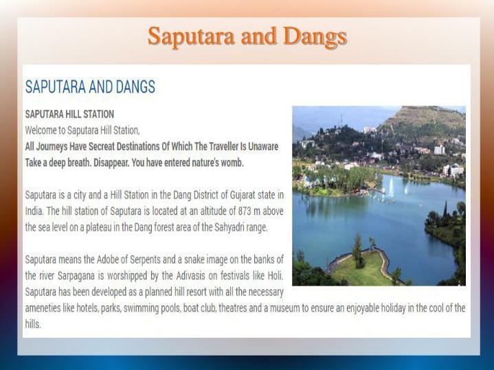 Saputara and Dangs
