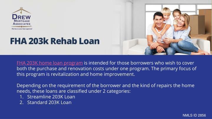 FHA 203K home loan program