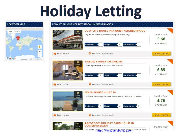Holiday Letting