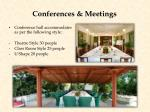 conferences meetings