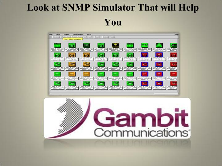 Look at SNMP Simulator That will Help