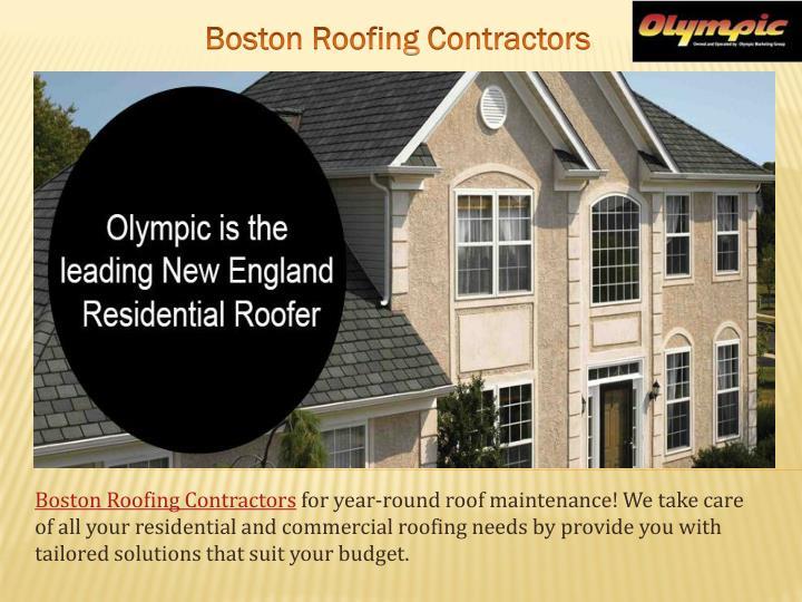 Boston Roofing Contractors