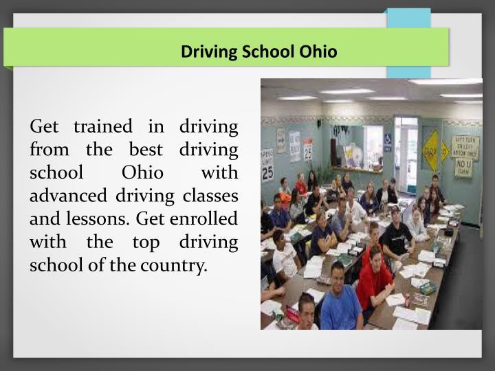 Driving School Ohio