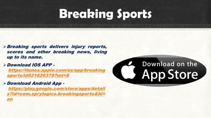 Breaking Sports
