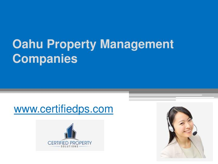oahu property management companies n.