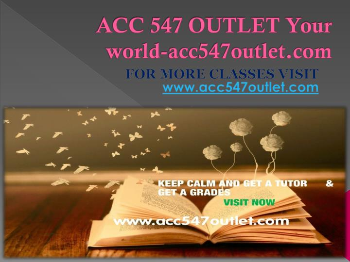 acc 547 outlet your world acc547outlet com n.