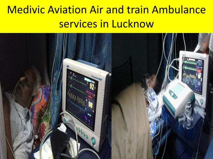 Medivic Aviation Air and train Ambulance services in