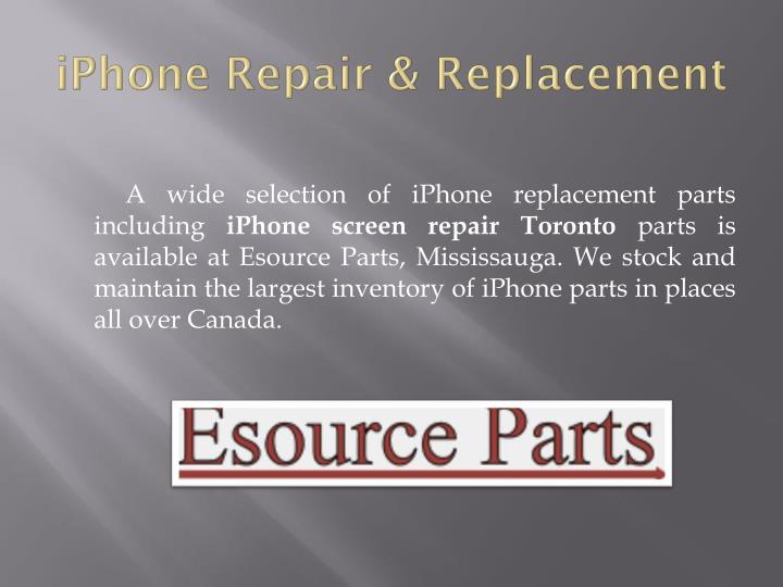 Iphone repair replacement