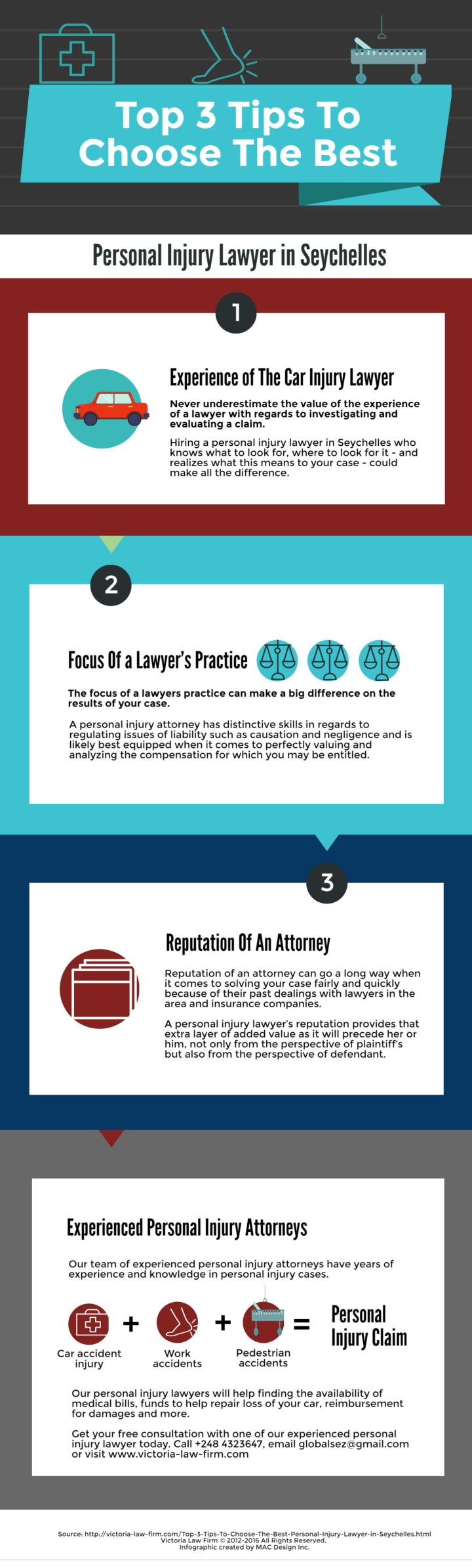 Top 3 tips to choose the best personal injury lawyer in seychelles