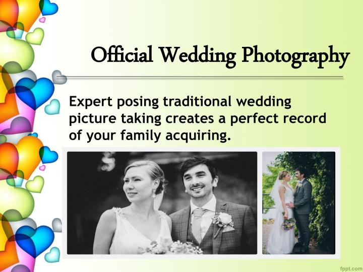 Official Wedding Photography