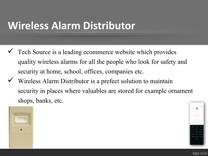 Wireless Alarm Distributor
