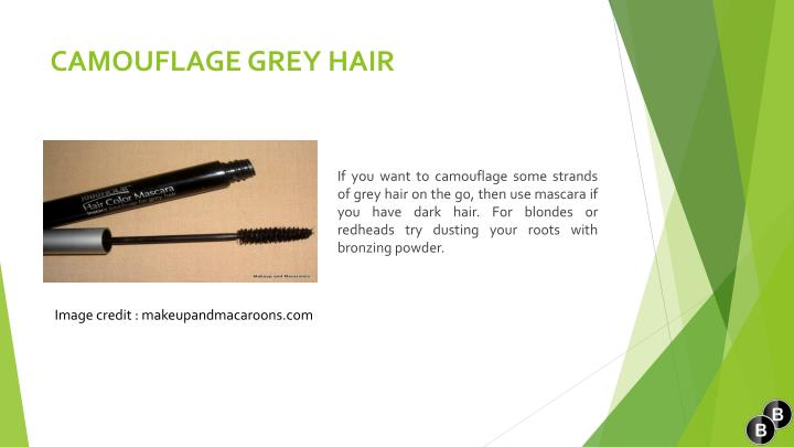 CAMOUFLAGE GREY HAIR