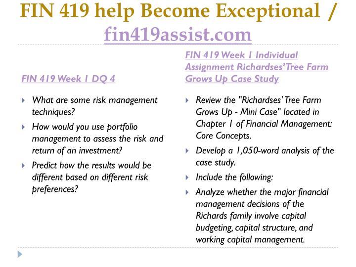 capital budgeting mini case Financial management: capital budgeting mini case 1 capital budgeting (mini case) question a what is capital budgeting solution: capital.