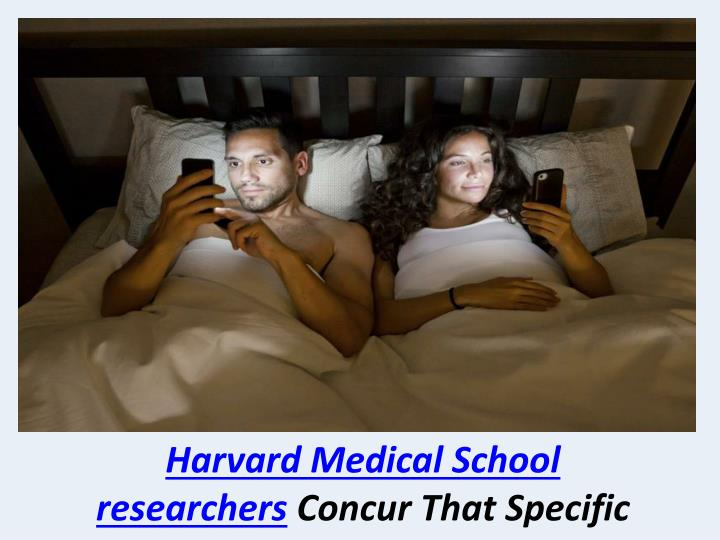 Harvard Medical School researchers