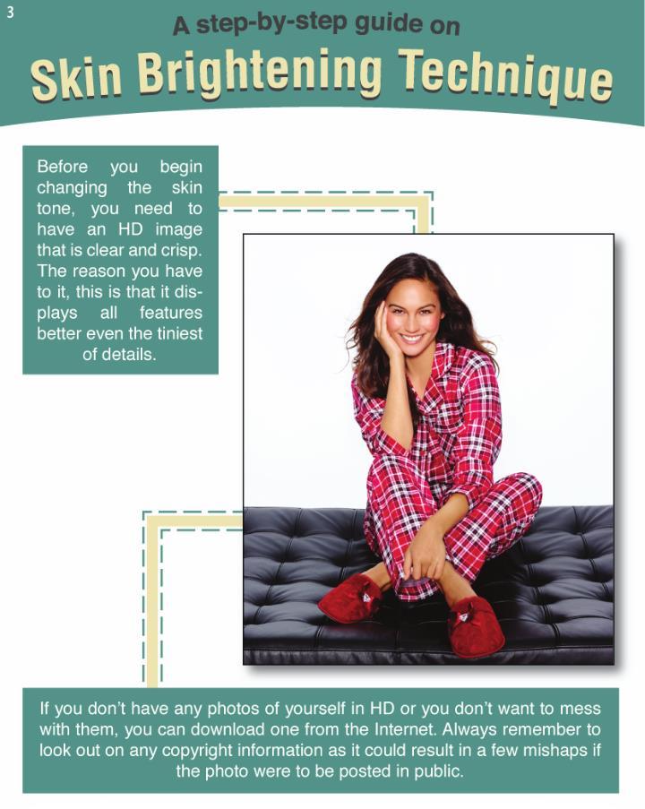 How to lighten skin in photoshop cs6