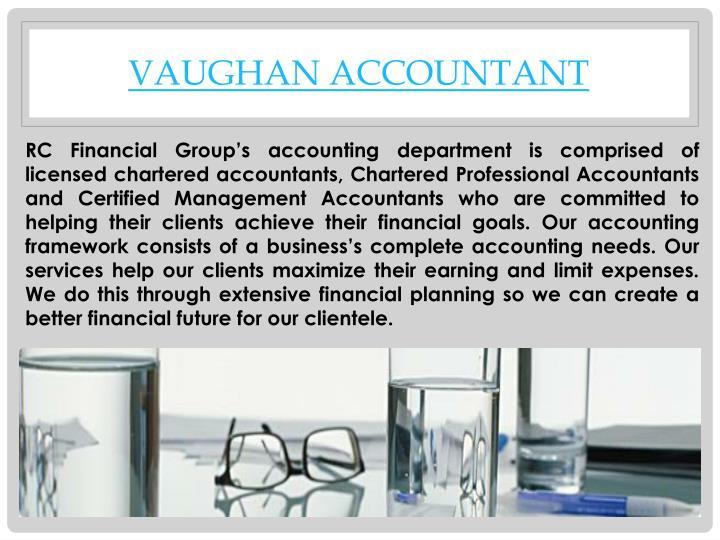 Vaughan accountant