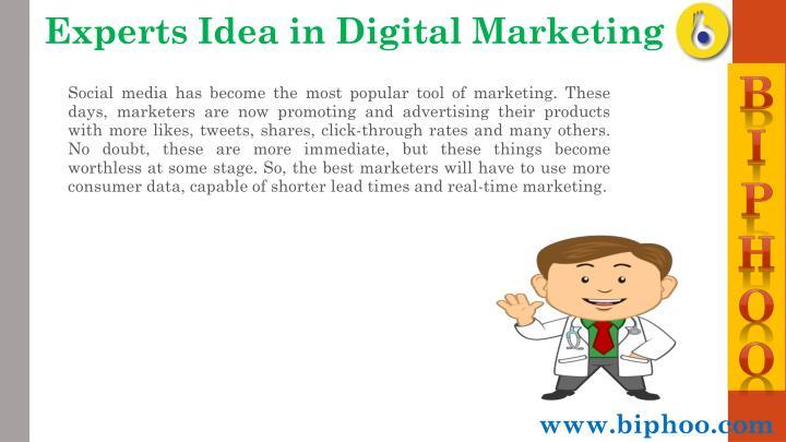 Experts Idea in Digital Marketing